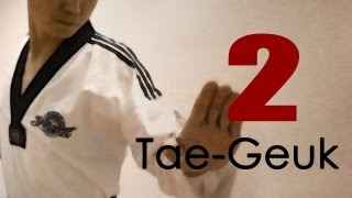getlinkyoutube.com-WTF Taekwondo poomsae Taegeuk 2 Jhang (Explanations) 태극 2장