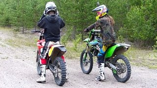 KX250F 4-Stroke VS Beta RR300 2-Stroke