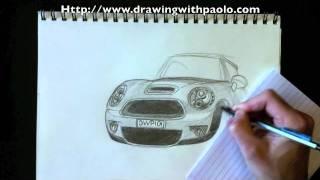 getlinkyoutube.com-Dessiner une Mini Cooper avec Paolo Morrone