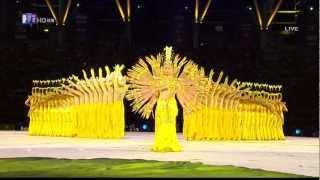 getlinkyoutube.com-Chinese Hearing Impaired Dancers--Thousand Hand Bodhisattva