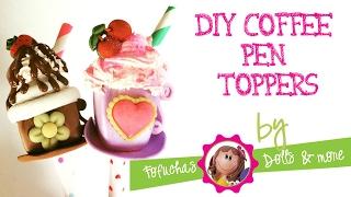 getlinkyoutube.com-DIY Coffee cup pen toppers - Craft Foam, Goma Eva, 3d Foam Art