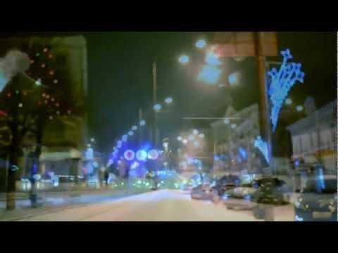 Снежная ночь в Калуге