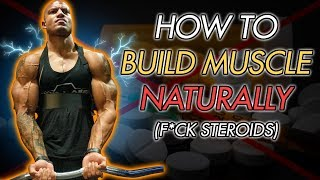 WHY YOU AREN'T BUILDING MUSCLE (Simple)