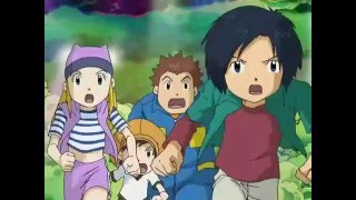 getlinkyoutube.com-Digimon Frontier La reunion de los 10 Guerreros Legendarios