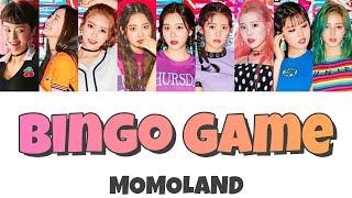 Bingo Game/MOMOLAND【歌詞&日本語訳】
