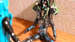 getlinkyoutube.com-仮面ライダーネクロムスペクター ゴーストよ英雄の力で友を救え ストップモーション Kamen rider ghost stop motion