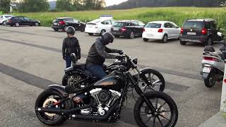 getlinkyoutube.com-Harley Davidson Breakout Friends