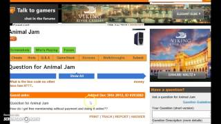getlinkyoutube.com-how to get animal jam FREE MEMBERSHIP THREE WAYS!