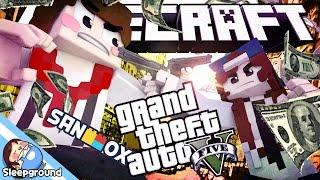 도티와 마지막 전투.. 출격 붉은 장미단!! [마인크래프트 GTA: 고래단의 최후] - Minecraft GTA - [잠뜰]