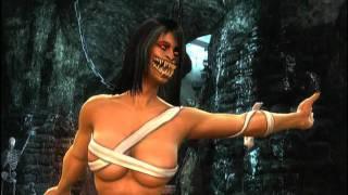 getlinkyoutube.com-Mortal Kombat (2011) Arcade Ladder: Mileena Playthrough 2/2