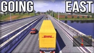 getlinkyoutube.com-Going East - Euro Truck Simulator 2 DLC (Career Profile)