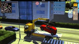getlinkyoutube.com-Tow Truck Simulator 2015 Gameplay