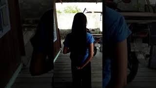 Potong rambut panjang