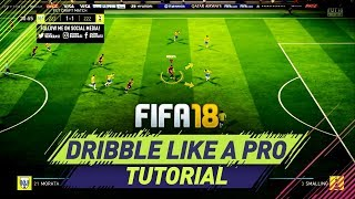 FIFA 18 NEW SKILL DRIBBLING TUTORIAL - THE SPEED DRIBBLING - HOW TO DRIBBLE LIKE A PRO! width=