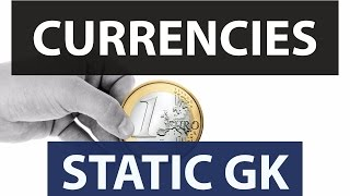 Countries - Capital - Currency of all countries and states - STATIC GK - Capitals Currencies world