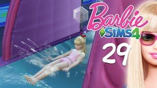 getlinkyoutube.com-The Sims 4 Barbie #29 สไลเดอร์น้ำหรรษา Backyard Stuff
