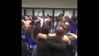 Perayaan Kemenangan Juve di Loker Room
