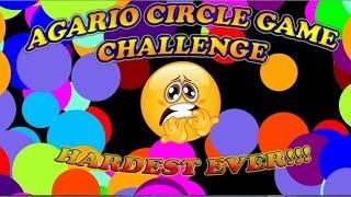 getlinkyoutube.com-♥AGARIO♥ Hardest Agario Mod Ever? Solo Circle Game Challenge + Funny Moments
