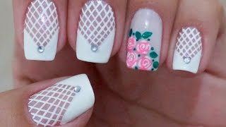 getlinkyoutube.com-Unhas Decoradas para Noivas Manual Bela e Simples