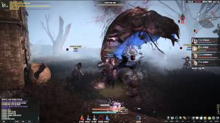 getlinkyoutube.com-Black Desert Online 2nd CBT Mud World Boss HD