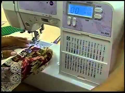 Programa Arte Brasil - 17/03/2014 - Elizandra Sobral - Toalha para Lavabo sem Costura Aparente