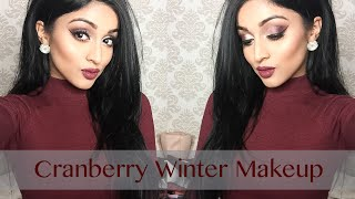 getlinkyoutube.com-Cranberry Winter Makeup | LABEAUTYWORLD