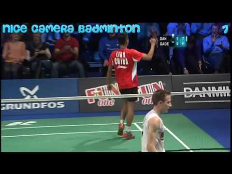 Top 10 best skill trick shot twice in one stroke badminton