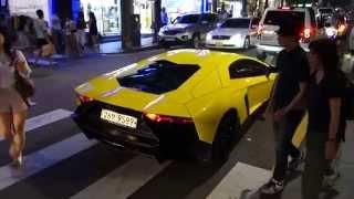 getlinkyoutube.com-Lamborghini Aventador_신사동 가로수길
