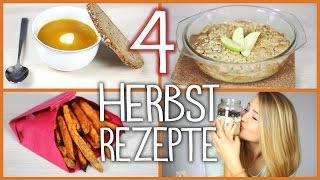 getlinkyoutube.com-4 HERBSTLICHE DIY Rezepte + Große Community Verlosung!