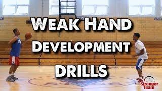 getlinkyoutube.com-Weak Hand Development Drills for Basketball