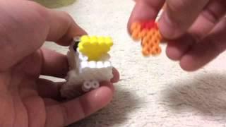 getlinkyoutube.com-【マインクラフト】アイロンビーズで鳥さんを作ってみました!