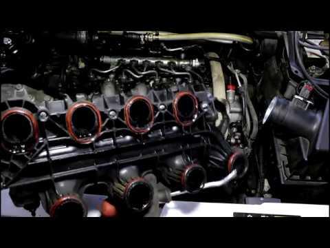 Замена свечей накала на Range Rover Evoque 2,2 Ленд Ровер Эвок 2011 года 2часть