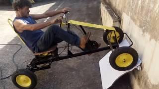 getlinkyoutube.com-teste de quadriciclo a pedal