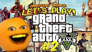 getlinkyoutube.com-Annoying Orange Plays - GTA #2
