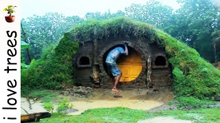 Hobit house I primitive I Recycle material width=