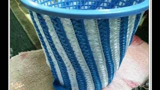 getlinkyoutube.com-كيف تزين السلة بطريقة سهلة وحلوة how to decorate a basket