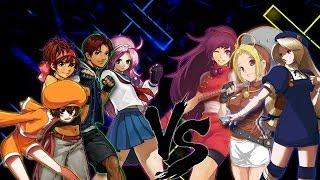 getlinkyoutube.com-Psycho Soldiers Team vs Neo Highschool Girls Team