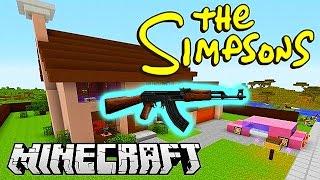 getlinkyoutube.com-Minecraft Mods - GUN MOD DEATHMATCH #3 (SIMPSONS SPRINGFIELD) with Vikkstar & Friends!