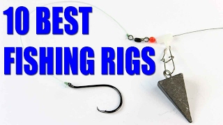 getlinkyoutube.com-Fishing rigs -  Bait fishing rigs for catfish, bass, trout - how to fish