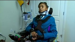 getlinkyoutube.com-St. Paul Teen Paralyzed In Car Accident Returns Home