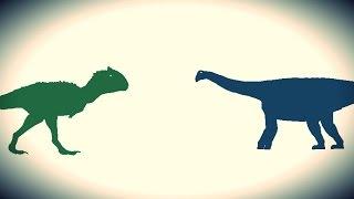 getlinkyoutube.com-PDFT - Carnotaurus vs Nigersaurus