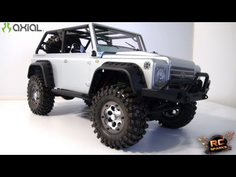 RC ADVENTURES  - Axial SCX10 DINGO  -  4X4 Scale Truck - Unboxing