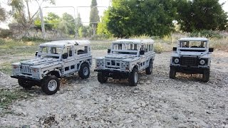 getlinkyoutube.com-LEGO Land-Rover Series II, III and Defender, REMOTE CONTROLLED! by Sheepo