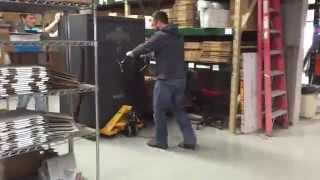 getlinkyoutube.com-The Safe Race: testing Rifle Rods against standard gun racks