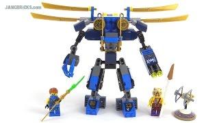 getlinkyoutube.com-LEGO Ninjago 2015 Jay's ElectroMech review! set 70754