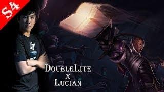 【職業ADC】S4 CLG Doublelift Lucian 路西恩 Feb. 03 13/6/13