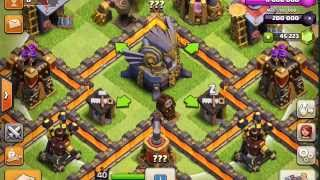 getlinkyoutube.com-NEW CLASH OF CLANS UPDATE INFO! TH11 AND TH10 FARMING BASE 275 WALLS!