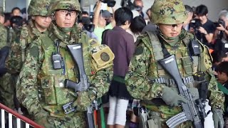 getlinkyoutube.com-自衛隊の海外「邦人救出」訓練 (日米タイ合同 コブラ・ゴールド2015)