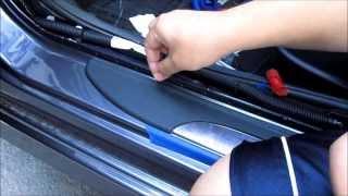 getlinkyoutube.com-DIY 2013 2014 2015 Honda Accord OEM Illuminated Door Sill Installation Part 2 of 3