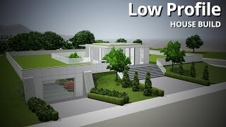 getlinkyoutube.com-The Sims 3 House Building - Low Profile (Futuristic house)